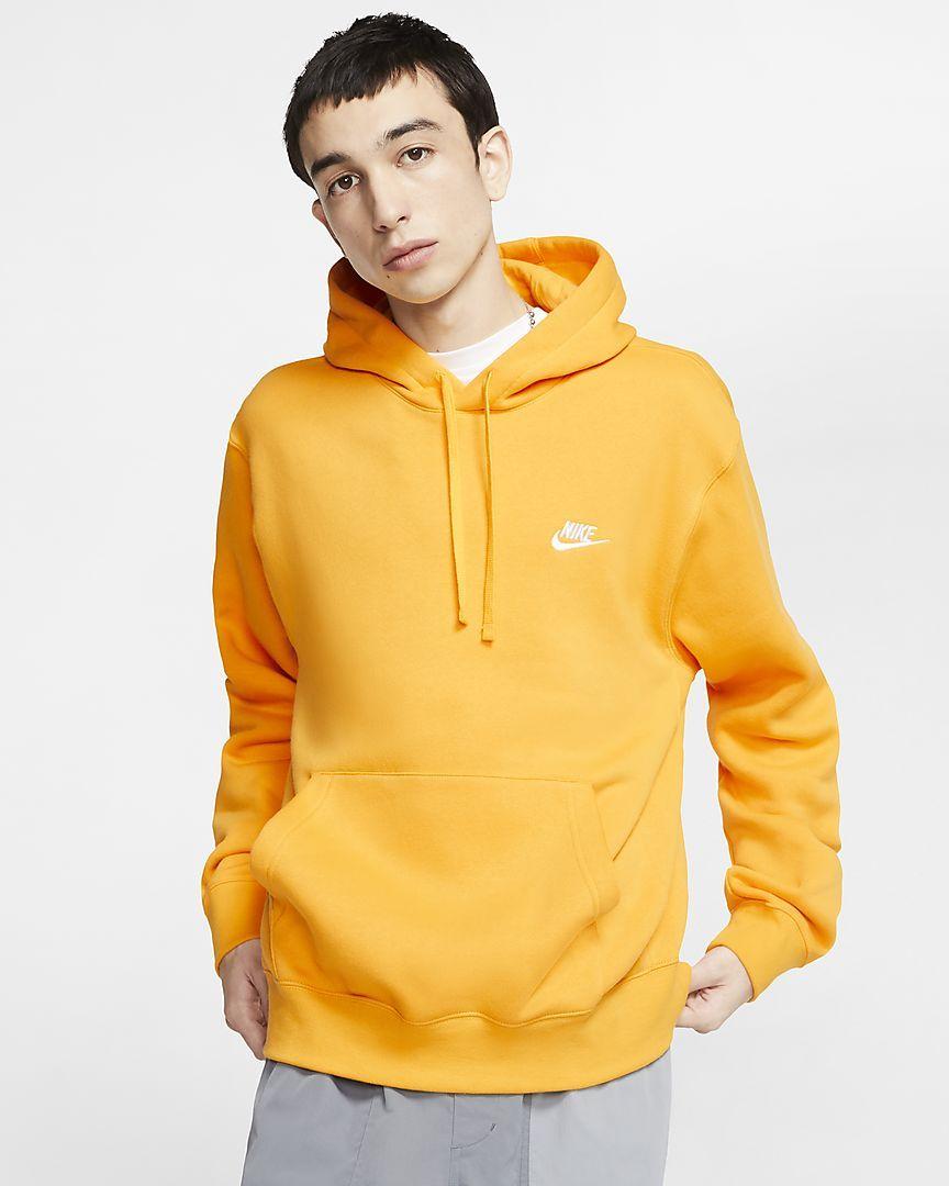 Nike Sportswear Club Fleece Pullover Hoodie Nike Com Hoodies Hoodies Men Pullover Fleece Pullover [ 1080 x 864 Pixel ]