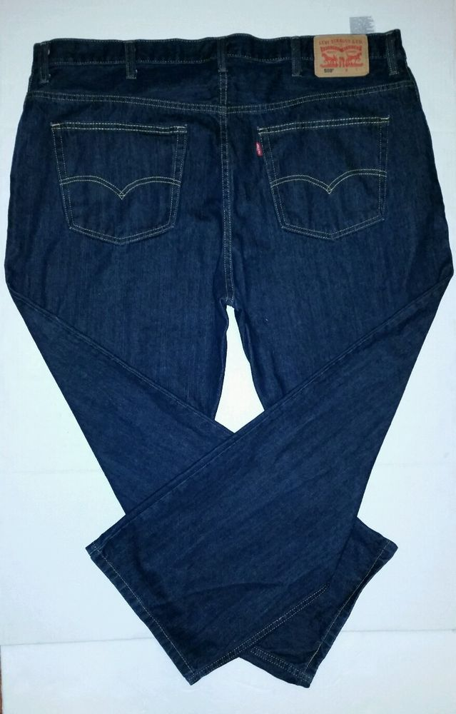 Levi s® 559 Loose Straight Leg Dark Blue Indigo Denim Jeans Men Size 44 x  29  Levis  LooseStraightLeg f72186d9a