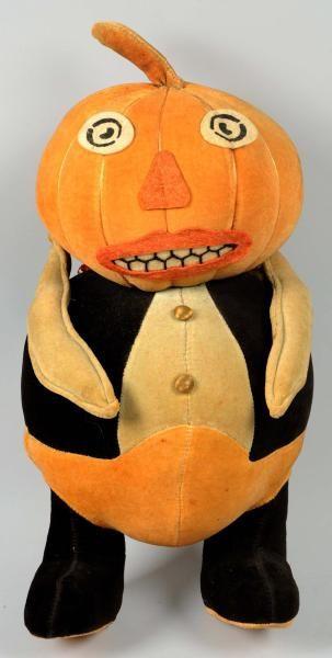 Halloween Felt Pumpkin Head Toy, #Halloween, #Holiday, # ...