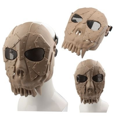 amazones gadgets WT Thorn Ling Desert Corps Airsoft Full Face Mask, DC-01 (Brown): Bid: 25,94€ Buynow Price 25,94€ Remaining 05 dias 04 hrs…
