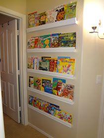 Impossibly Un-Crafty: Childrens Forward Facing Bookshelf | kiddos ...