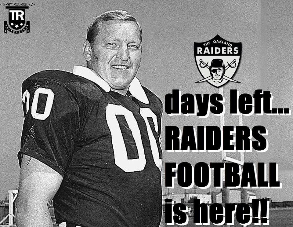 00 days left to the raider game