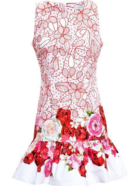 Isolda Vestido Floral - Browns - Farfetch.com