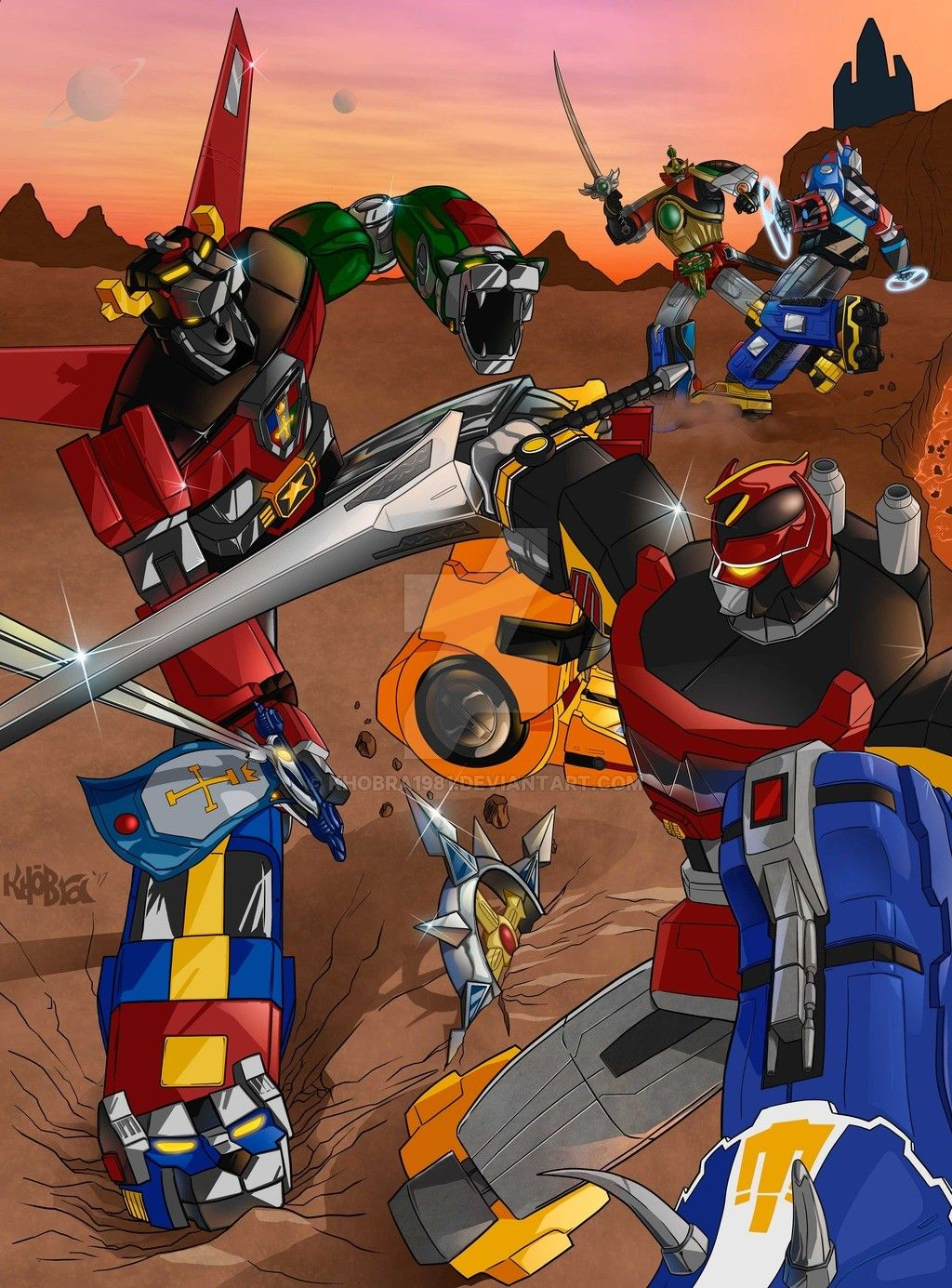 Image by O C on 80's/90's Toons Voltron, Power rangers