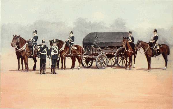 Army Service Corps, Dress Uniform 1900