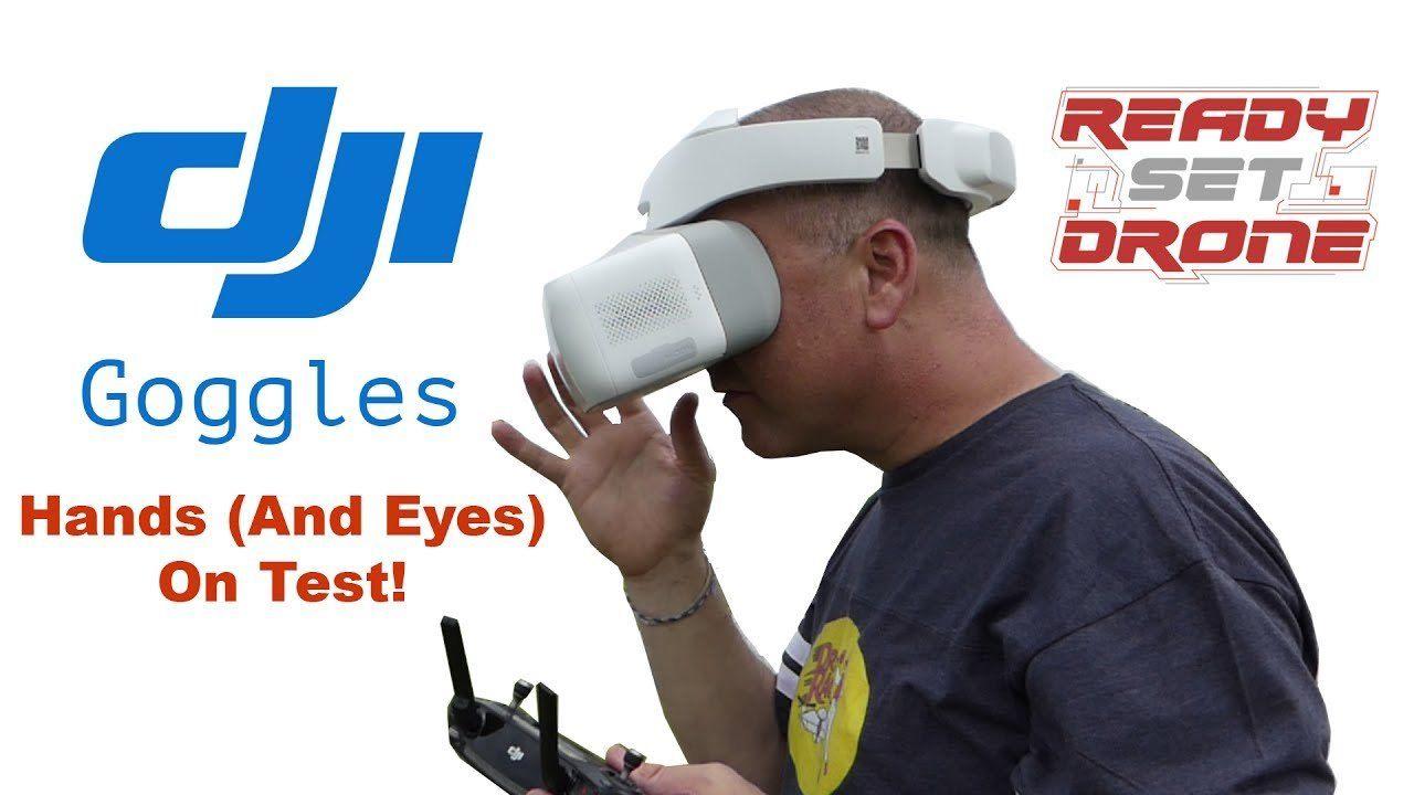 VR VRGames Drone Gaming DJI Goggles