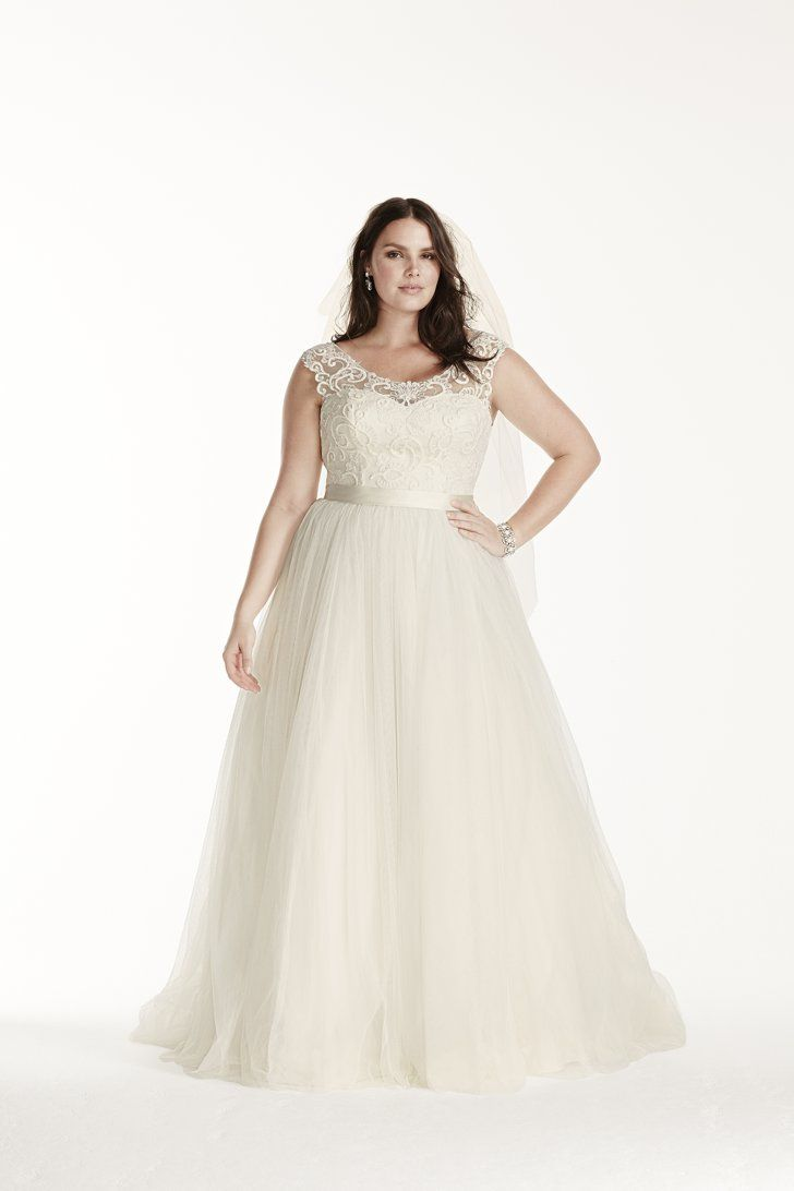 19 Stunning Wedding Dresses For Curvy Women   All Things Style ...