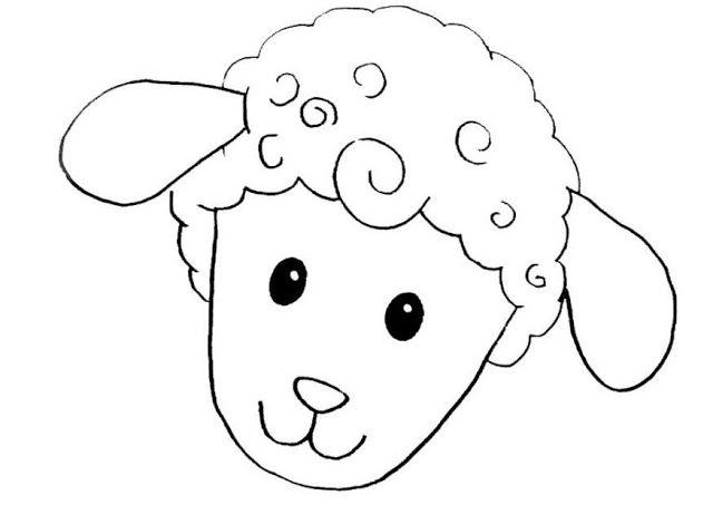 Moldes de mascaras de ovejas para imprimir - Imagui | Dibujos ...