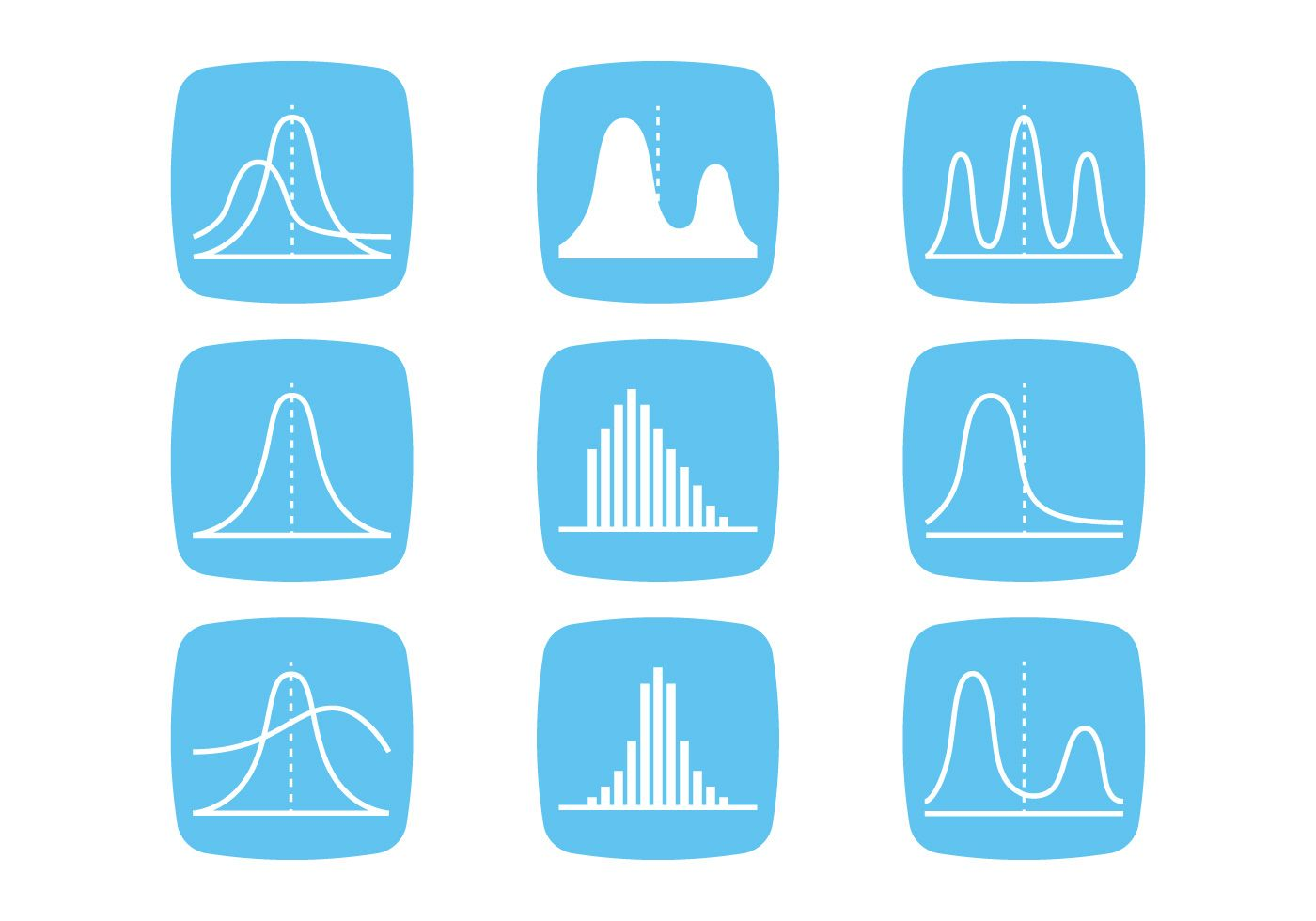 Bell Curve Icons Vector Choose From Thousands Of Free Vectors Clip Art Designs Icons And Illustrations Created Bell Curve Diagram Design Infographic Design