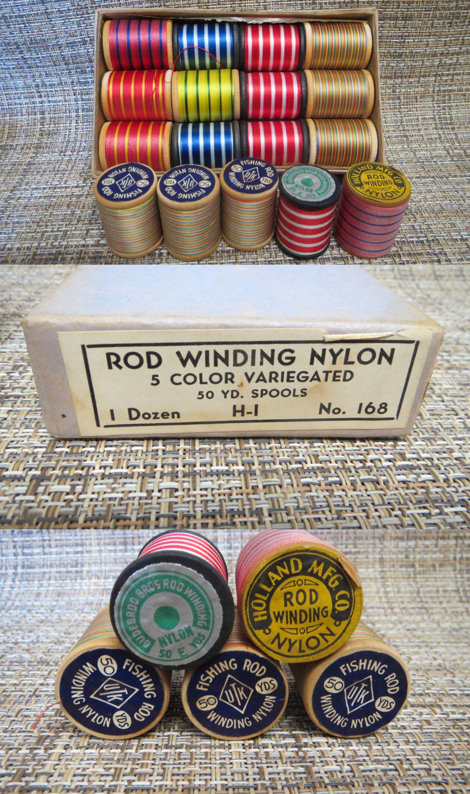 Thread epoxy and coatings 61252 17 spools gudebrod holland mixed thread epoxy and coatings 61252 17 spools gudebrod holland mixed colors nylon rod winding thread nvjuhfo Choice Image