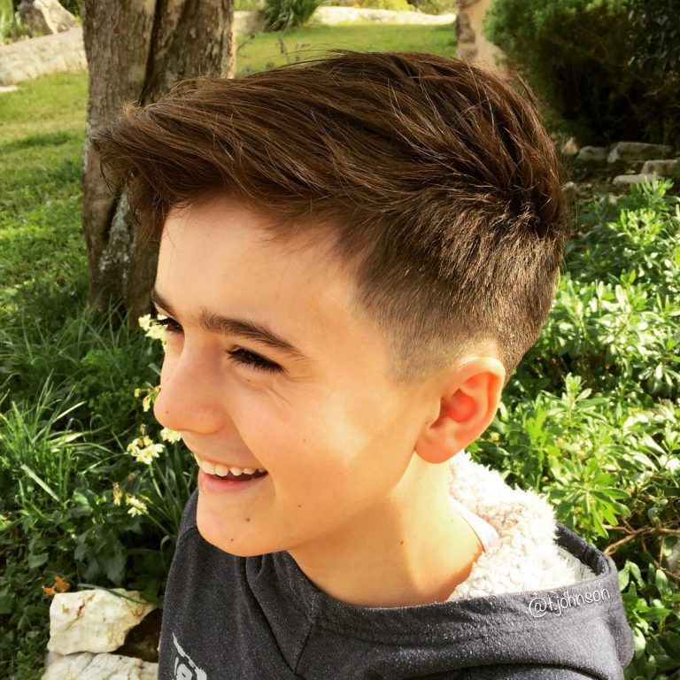 Most Popular Haircuts For Boys