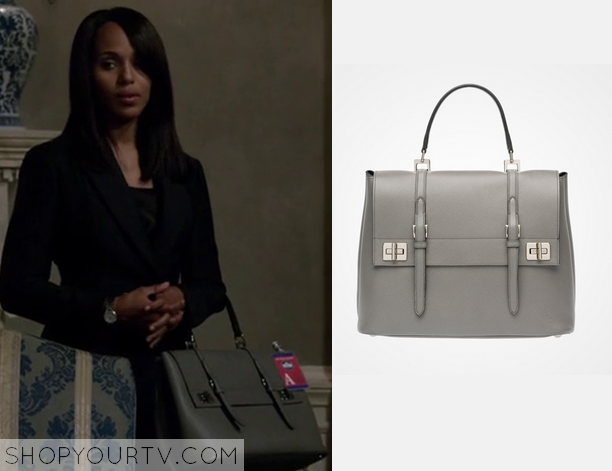 4608f81d6585 Scandal: Season 4 Episode 15 Olivia's Grey Bag | Bag Lady! | Bags ...