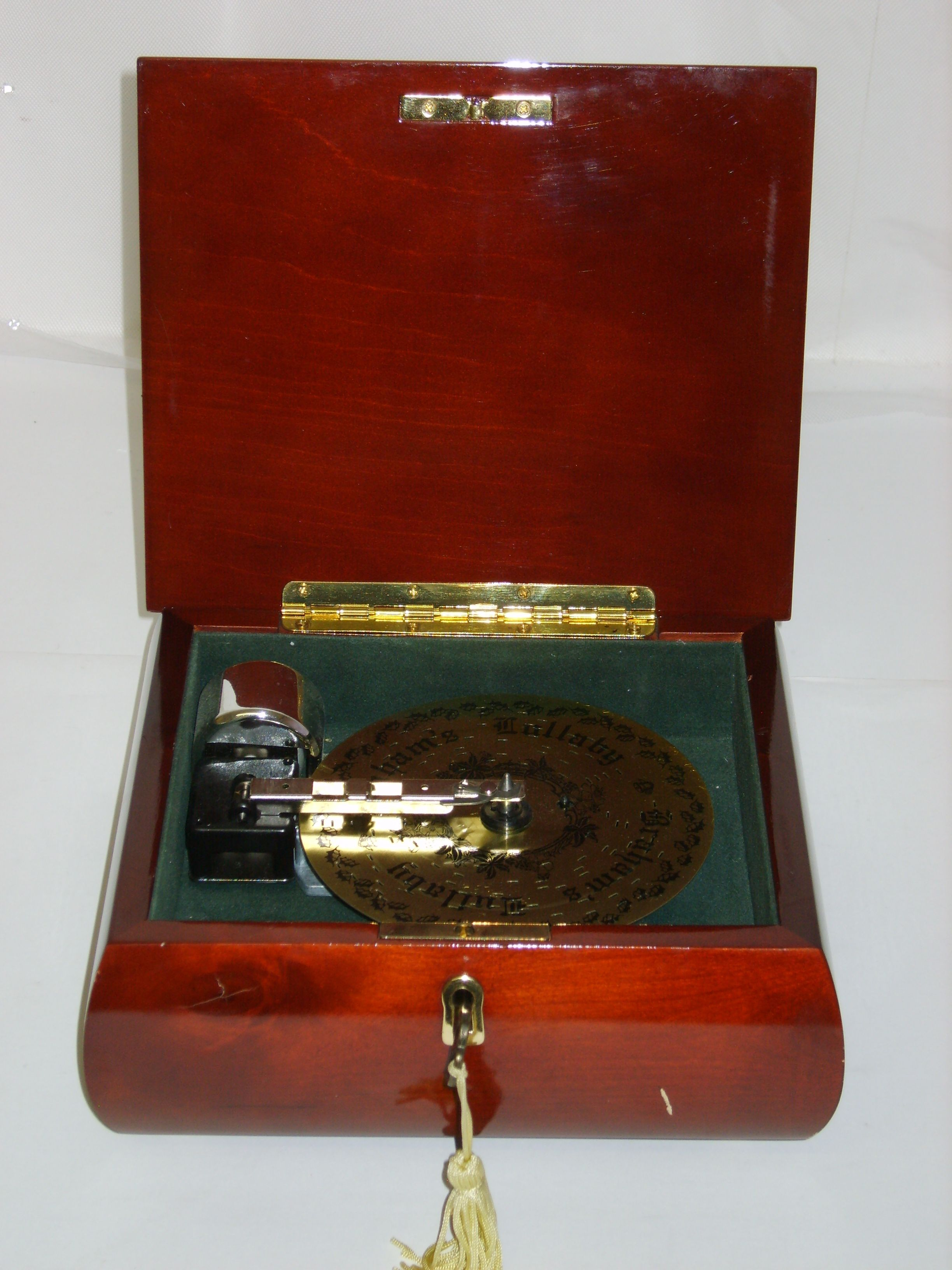 Animated Symphony Of Bells Musical Tabletop Decoration Original $15200 Sale $7600 Deluxe Symphonium Music Box Plays 5