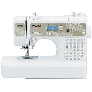 Brother Sq9185 130 Stitch Sewing Quilting Machine Walmart Com Computerized Sewing Sewing Machine Sewing