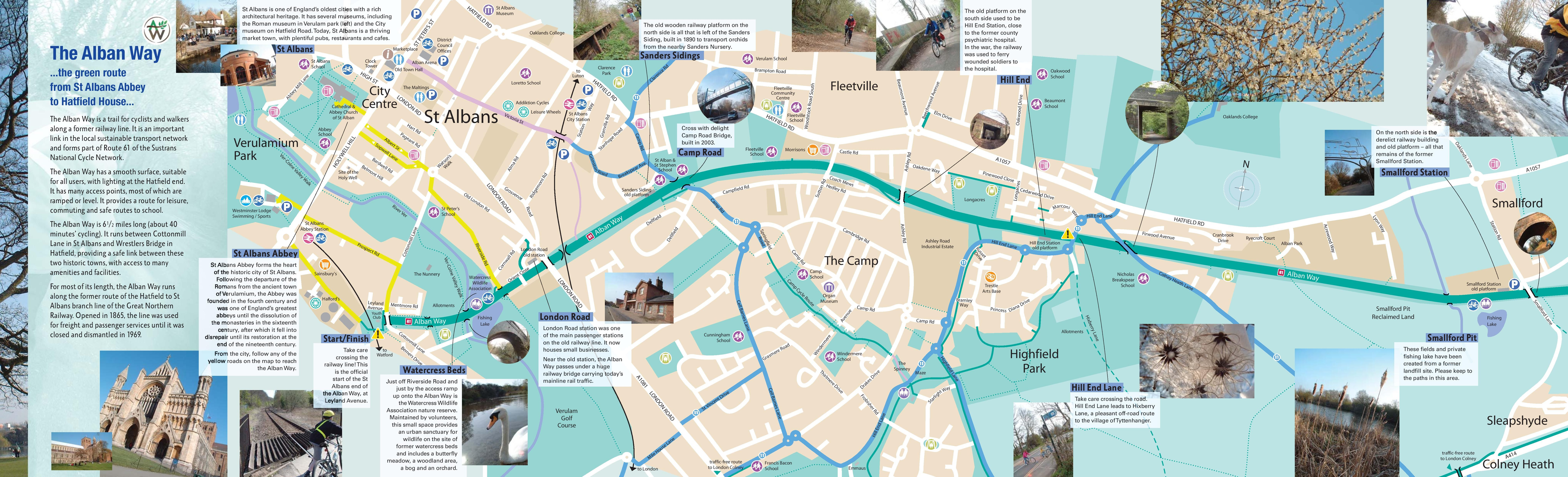 Alban Way P1 St Albans Abbey to