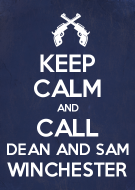 """Me and my sister have a Dean and Sam Winchester relationship and she's Dean because she's older and """"cuter."""" I'm Sam. So, we were both walking together and she said, """"Do you smell that?"""" and I said, """"What, sulfur?"""" and she said, """"No, pie!!!!"""" We totally didn't mean for this to happen... She actually did smell pie because we were right in front of a bakery. Lol!"""