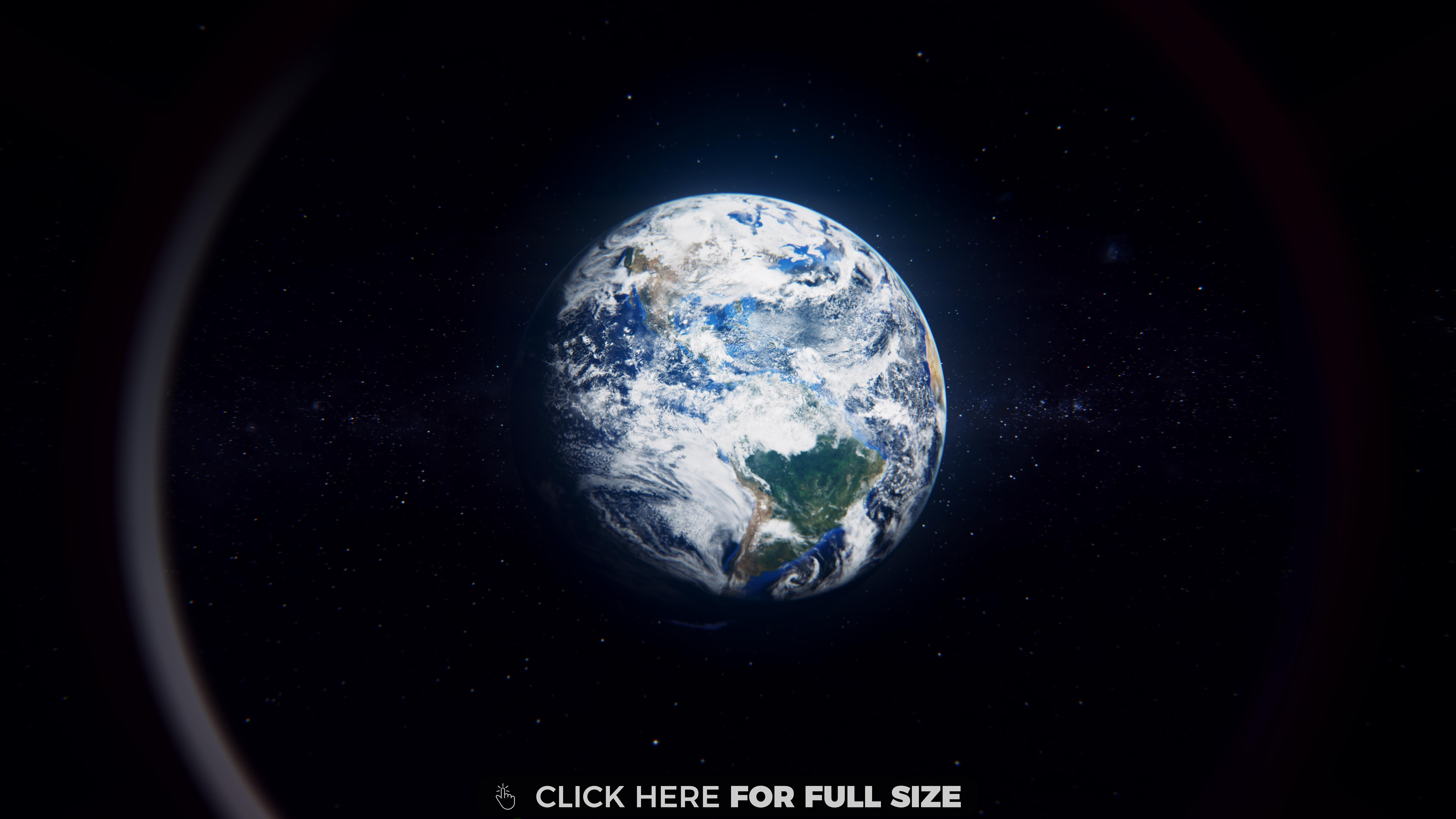 Earth From Space 4k Wallpaper Earth View From Space Wallpaper Earth Earth View
