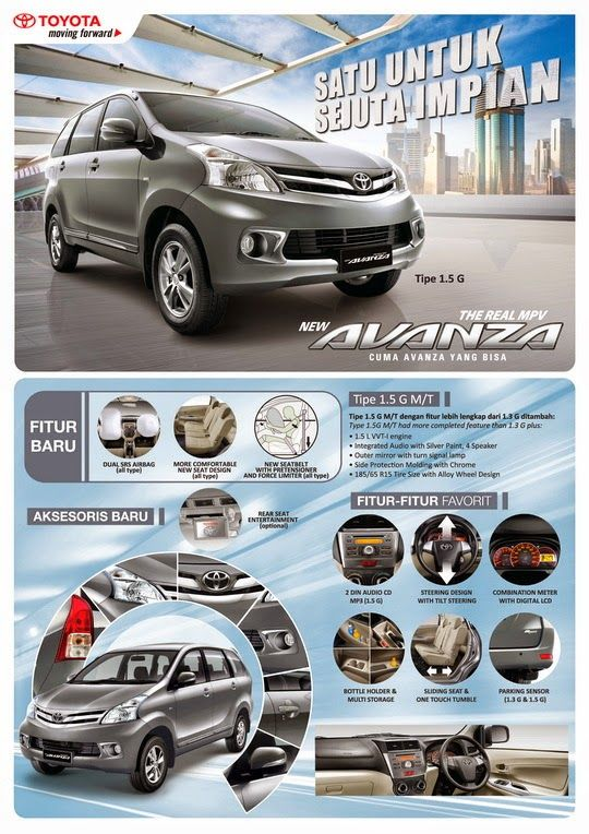 Katalog Grand New Avanza Agya 1.2 G At Trd Toyota Indramayu Astra Auto 2000 Atau Brosur All