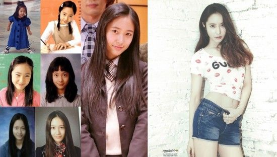 10 Female Idols Who Look The Same Before And After Kpop Girls Female Model