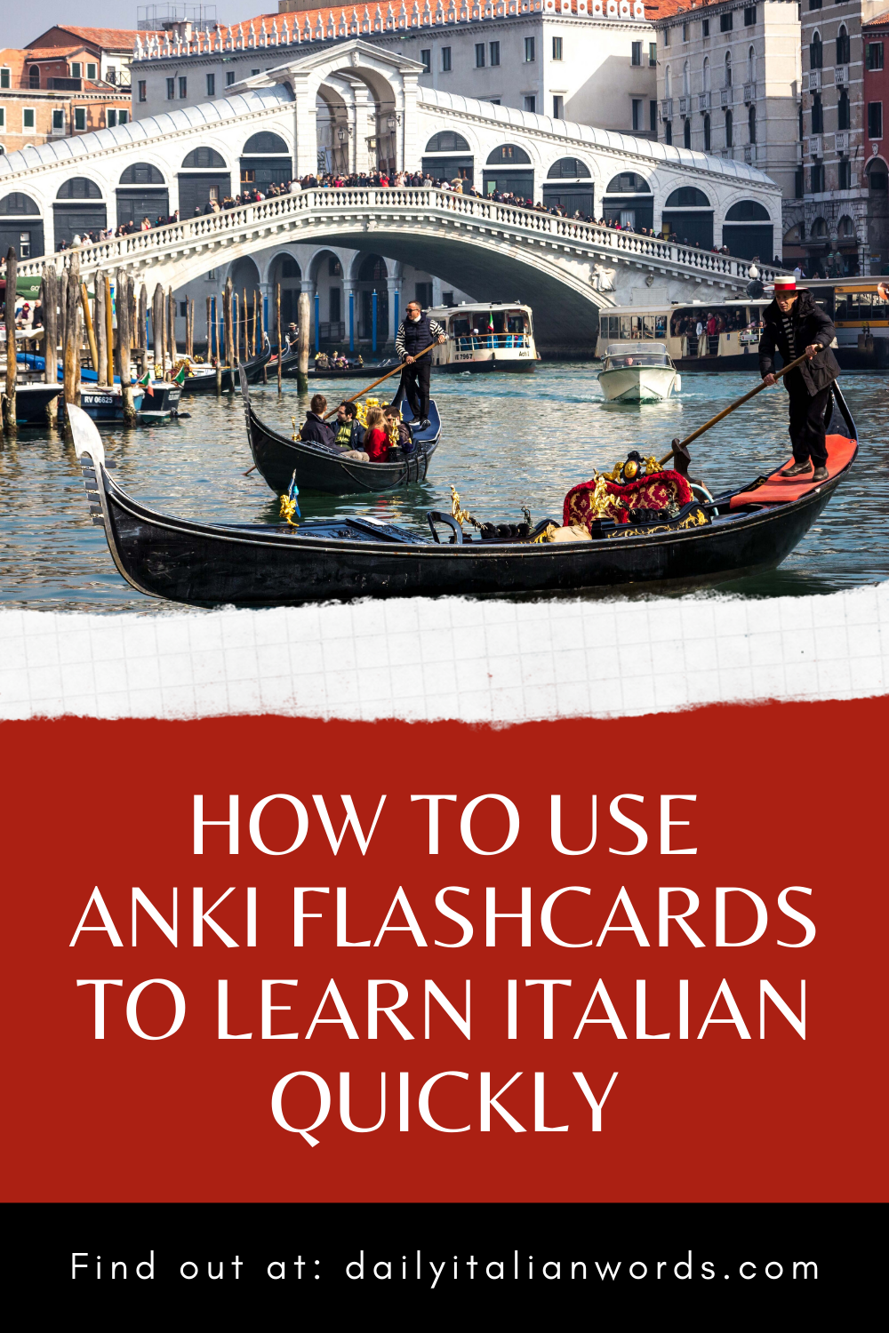 How to Use Anki Flashcards to Learn Italian Quickly in
