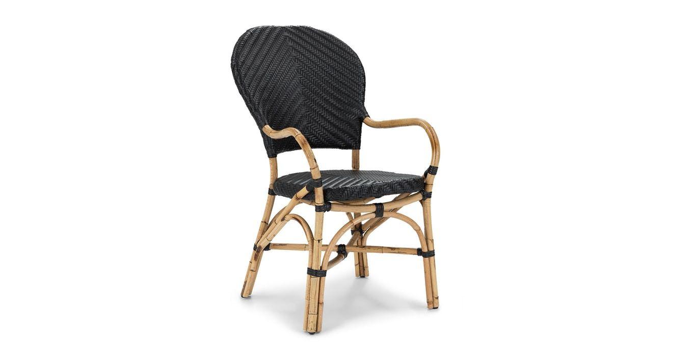 Noir Dining Chair Contemporary Outdoor Furniture Outdoor Dining Chairs Modern Outdoor Furniture