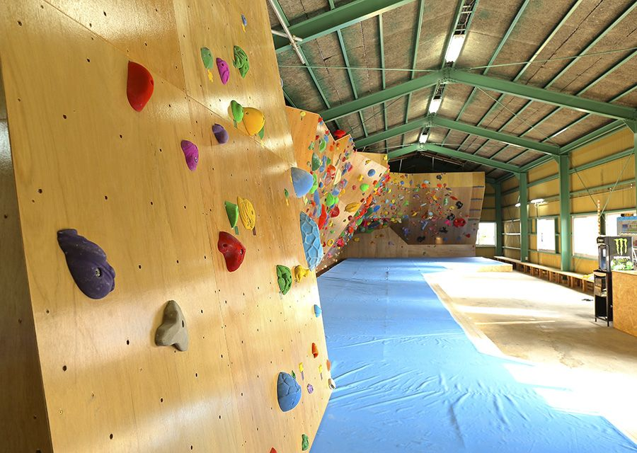 BOULBAKA Rock Climbing Gym. Naha Okinawa. Address: 882 Ameku, Naha Hours: Weekdays, 1-10:30 p.m.; Weekends, 10 a.m.-8 p.m. Cost: Weekdays, 1,500 yen; Weekends, 2,000 yen; hourly, 500 yen