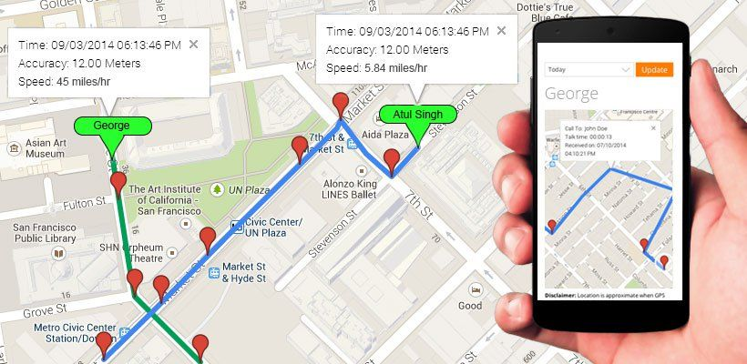 Easy Logger, a real time GPS tracker, puts your Android phone to - vacation tracker app