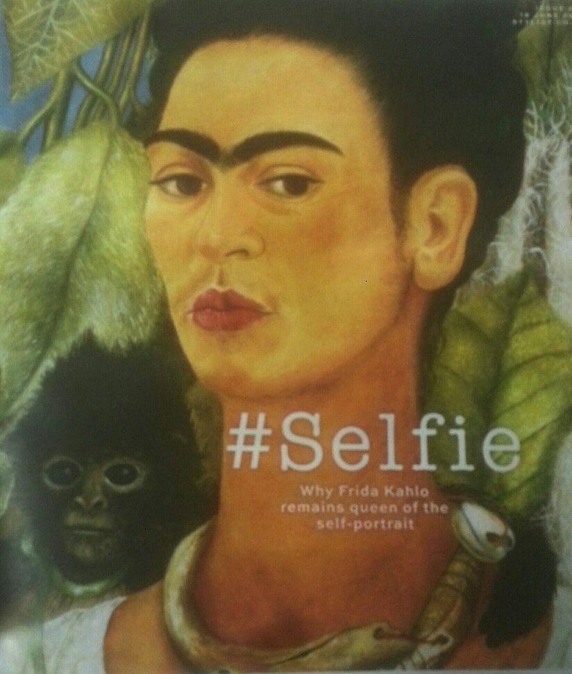 Frida Kahlo la reina de la Selfie