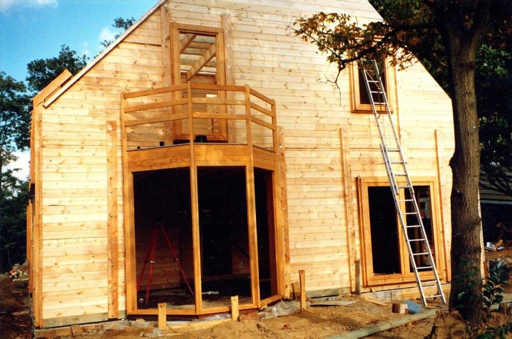 Maison en bois, par Luc ANTOINE architecte Maisons d\u0027Architectes - plan maison architecte gratuit