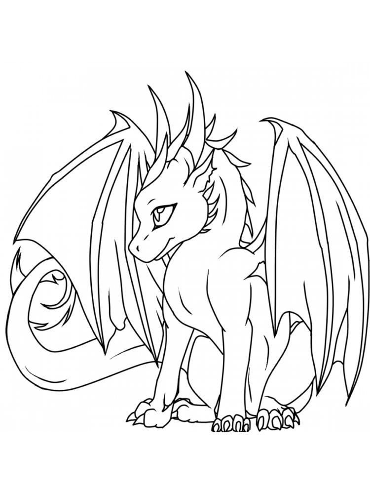 Dragon Ball Coloring Page The Following Is Our Dragon Coloring Page Collection You Are Free To Easy Dragon Drawings Baby Dragons Drawing Cute Dragon Drawing