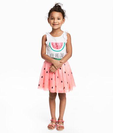 c358c93d62b8 Tulle Skirt   Pink/watermelon   Kids   H&M US   Cherry Mae's 3rd ...