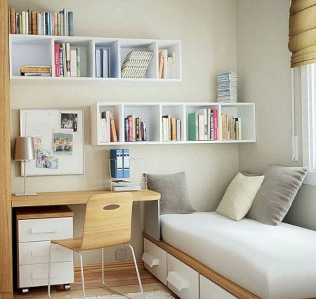 30 Mind Blowing Small Bedroom Decorating Ideas: 38 Luxury Small Storage Design Ideas That Will Blow Your