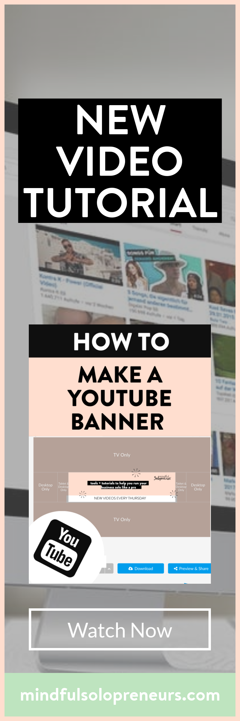Today I will be showing you how to make a youtube banner or