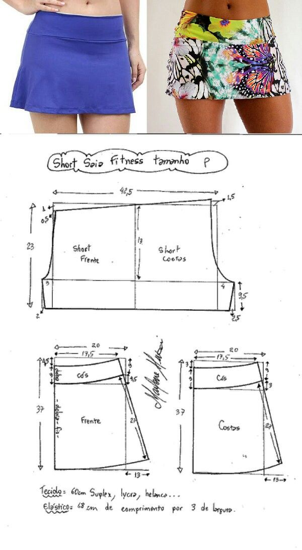 Pantalon De Corte Y Confeccion