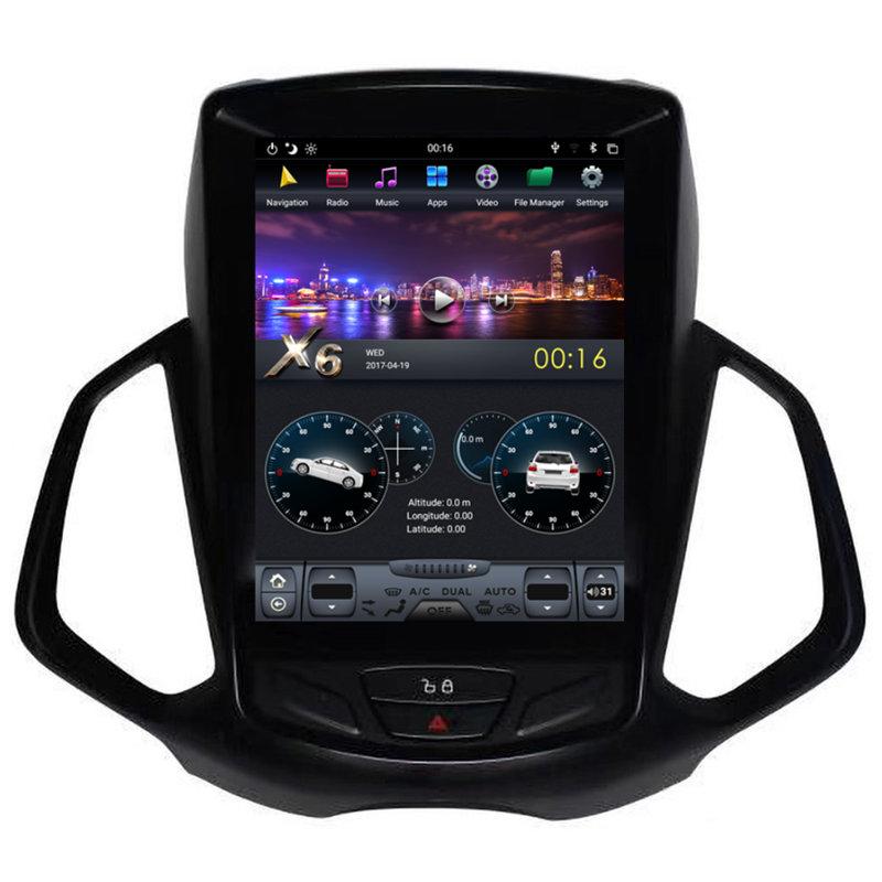 "10.4"" Tesla Style Android Car Stereo Radio Audio DVD GPS"