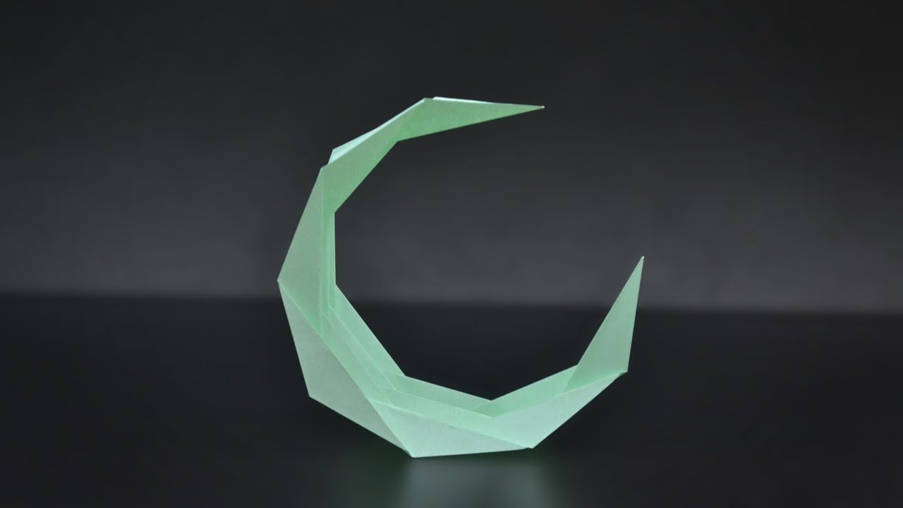 Pin By Denise Wang On Origami Spring Pinterest And Moon Swan Diagram In This Video I Teach How To Make A Waning
