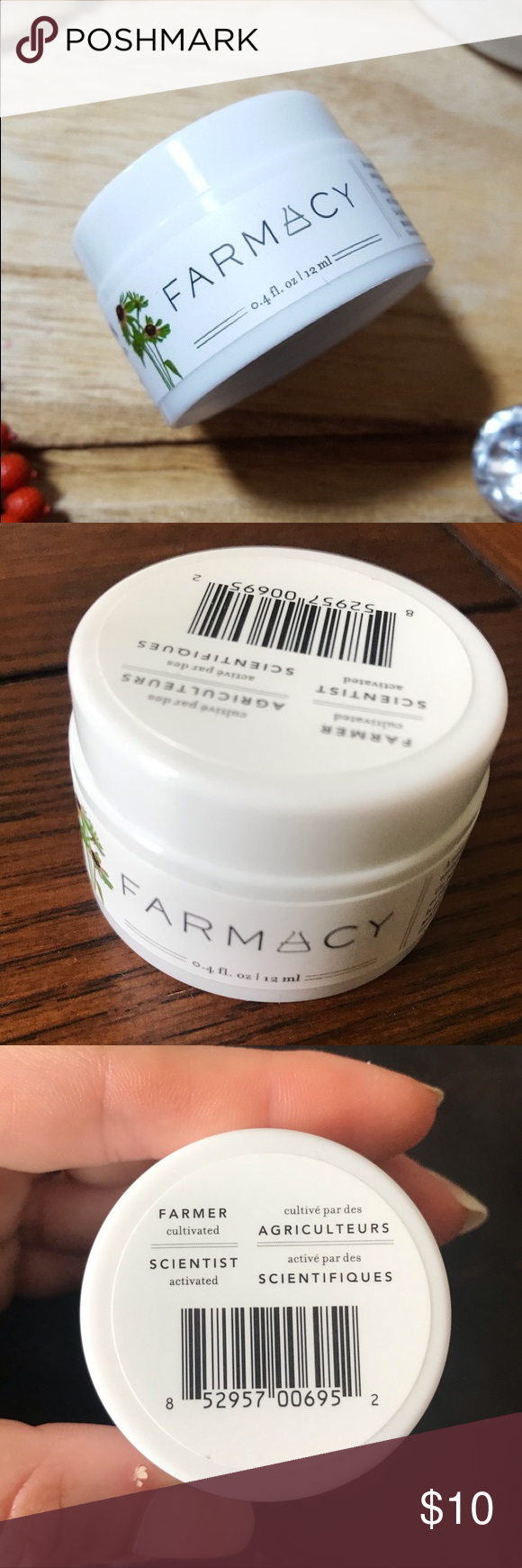 Farmacy Green Clean Makeup Meltaway Cleansing Balm NWT