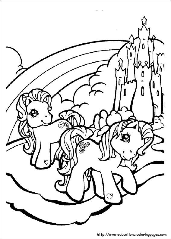 My Little Pony Coloring Pages Free For Kids Rhpinterest: My Little Pony Tales Coloring Pages At Baymontmadison.com