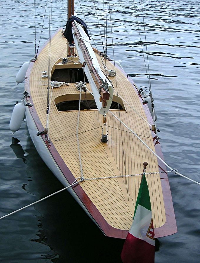Bobkat II: 6mR designed by Olin Stephens and built by Nevins, City Island, NY (1931 ...