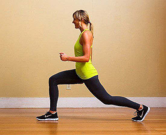 Love the Lunge! A Leg-Strengthening Agility Workout For Runners #agilityworkouts