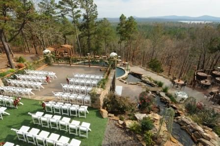Little Rock Arkansas Outdoor Wedding Reception Location AR Venue