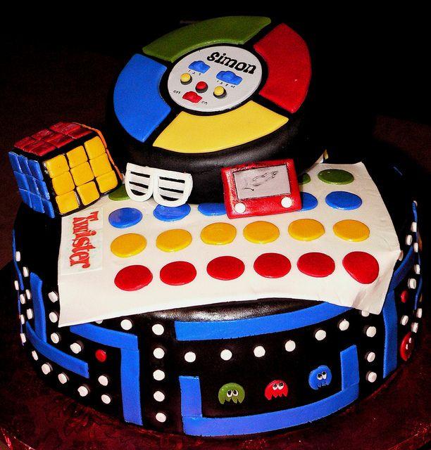 Movie Night Themed Cake