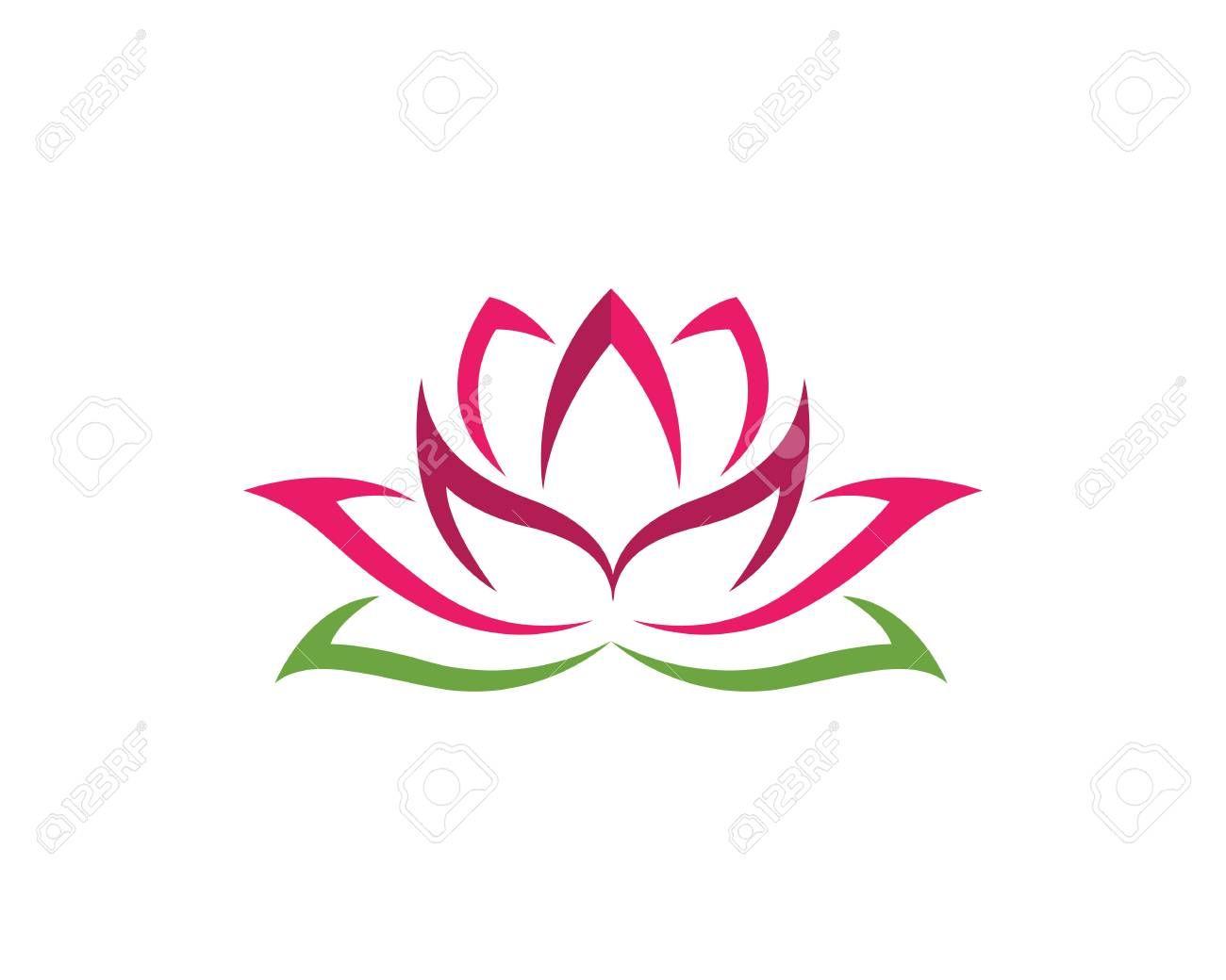 Beauty Lotus Logo Template Lotus Logo Lotus Flower Logo Lotus Flower Tattoo Wrist