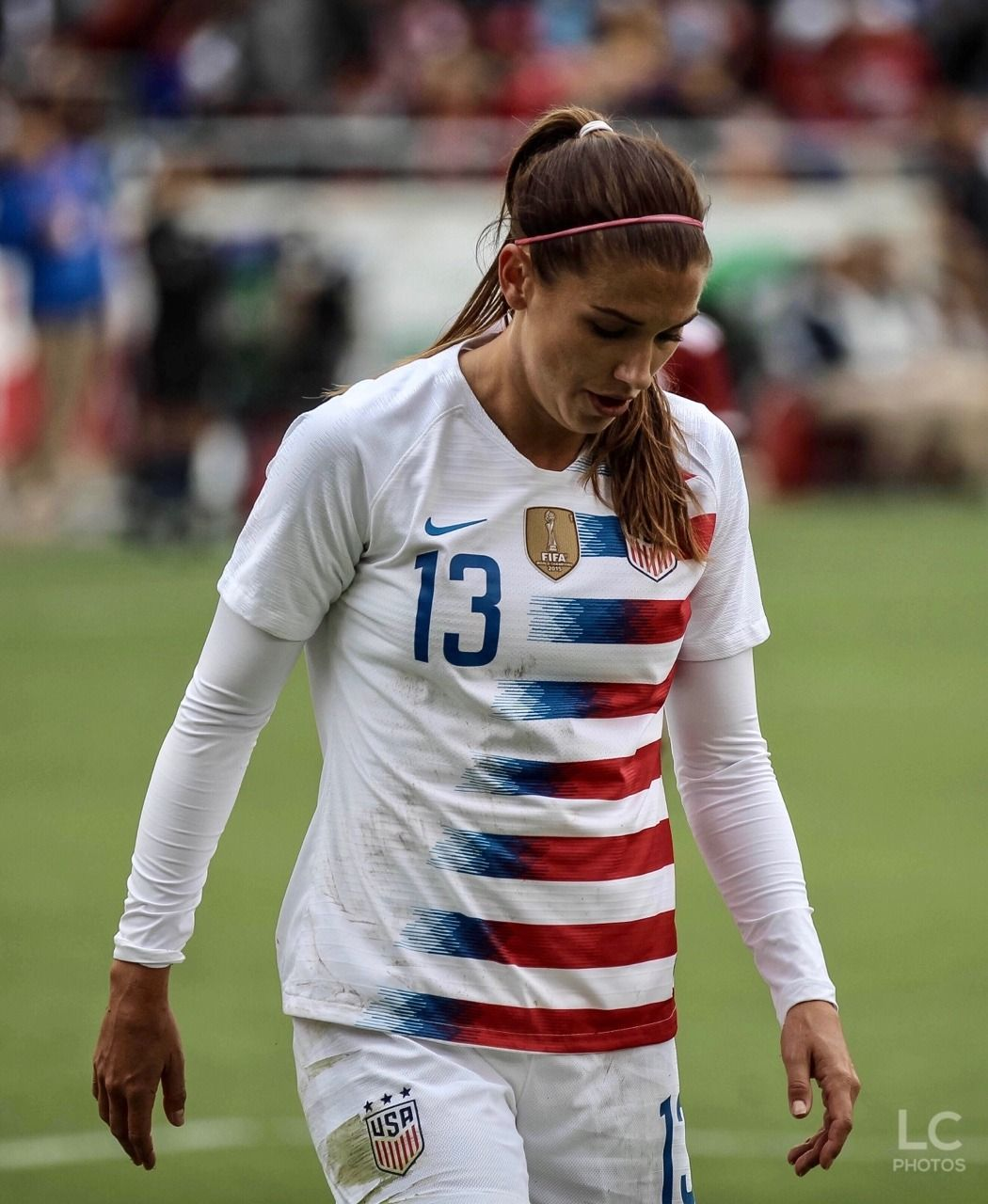 Alex Morgan Is The Best Universe T0bin17heath Throw Back To Alex S White Girl Alex Morgan Usa Soccer Women Soccer Girl