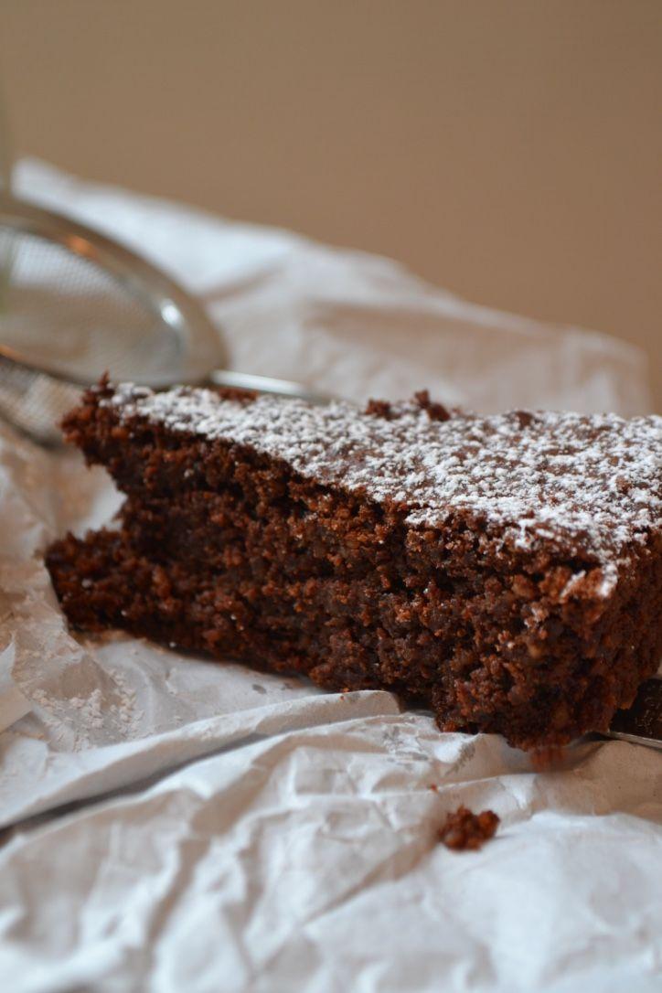 The Recipe Suitcase: Saftiger Schokoladen-Espressokuchen