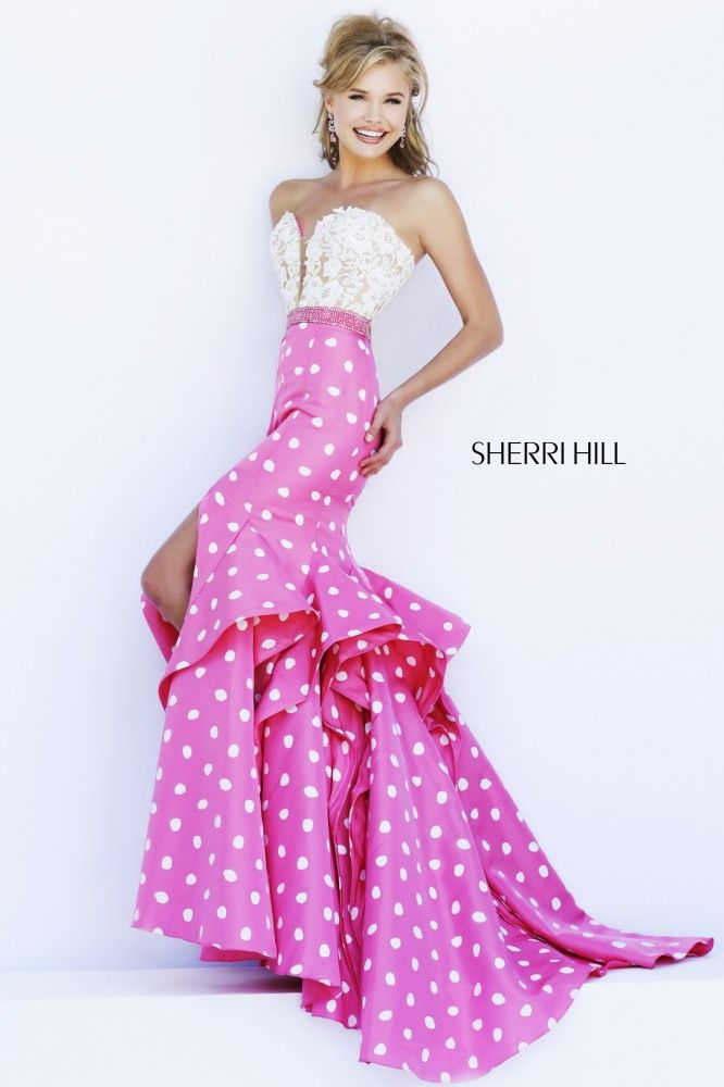 Sherri Hill Prom 2015 available at CC\'s Boutique in Tampa http://www ...