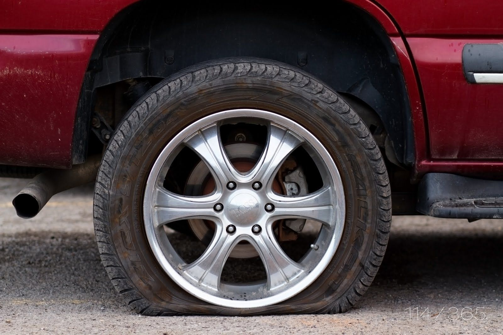 Flat Flat Tire Repair Near Me