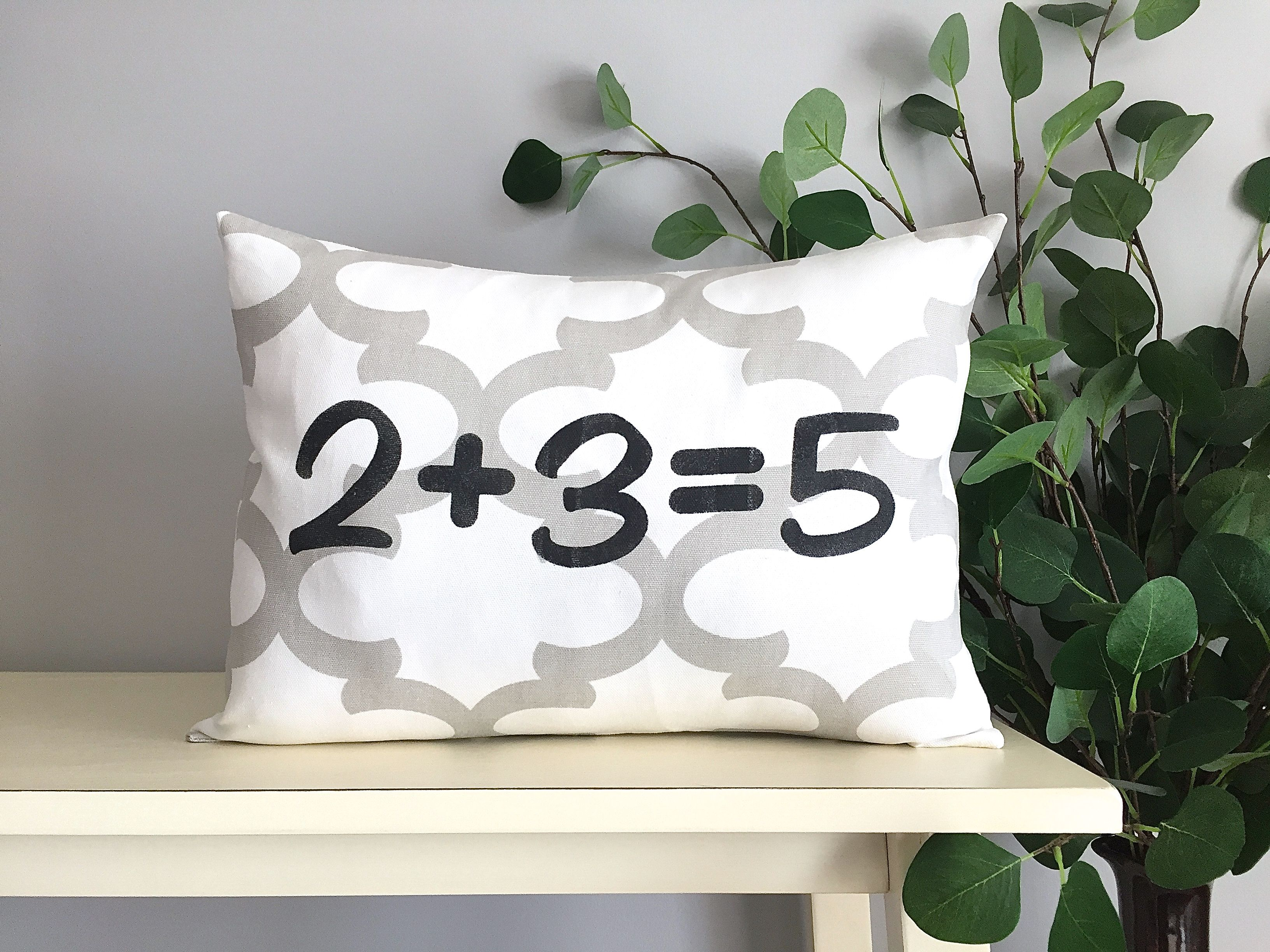 pillow anniversary and pillows date pin personalized initial nautical with anchor monogram