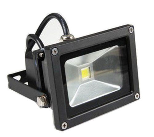 Glw 10w 12v Ac Or Dc Led Flood Light Waterproof Daylight White Outdoor Lights 750lm Spotlight Lamp 80w Halogen Bulb Equivalent Black Case Led Flood Lights Led Flood