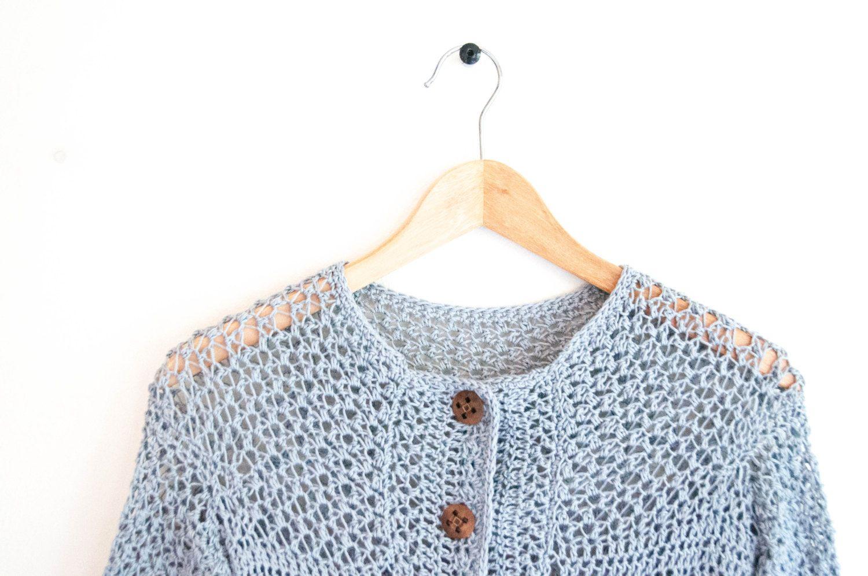 CROCHET PATTERN DIY Cardigan crochet pattern por joyofmotion ...